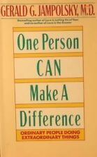 Image for One Person Can Make a Difference: Ordinary People Doing Extraordinary Things