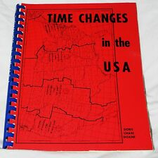 Image for Time Changes in the USA